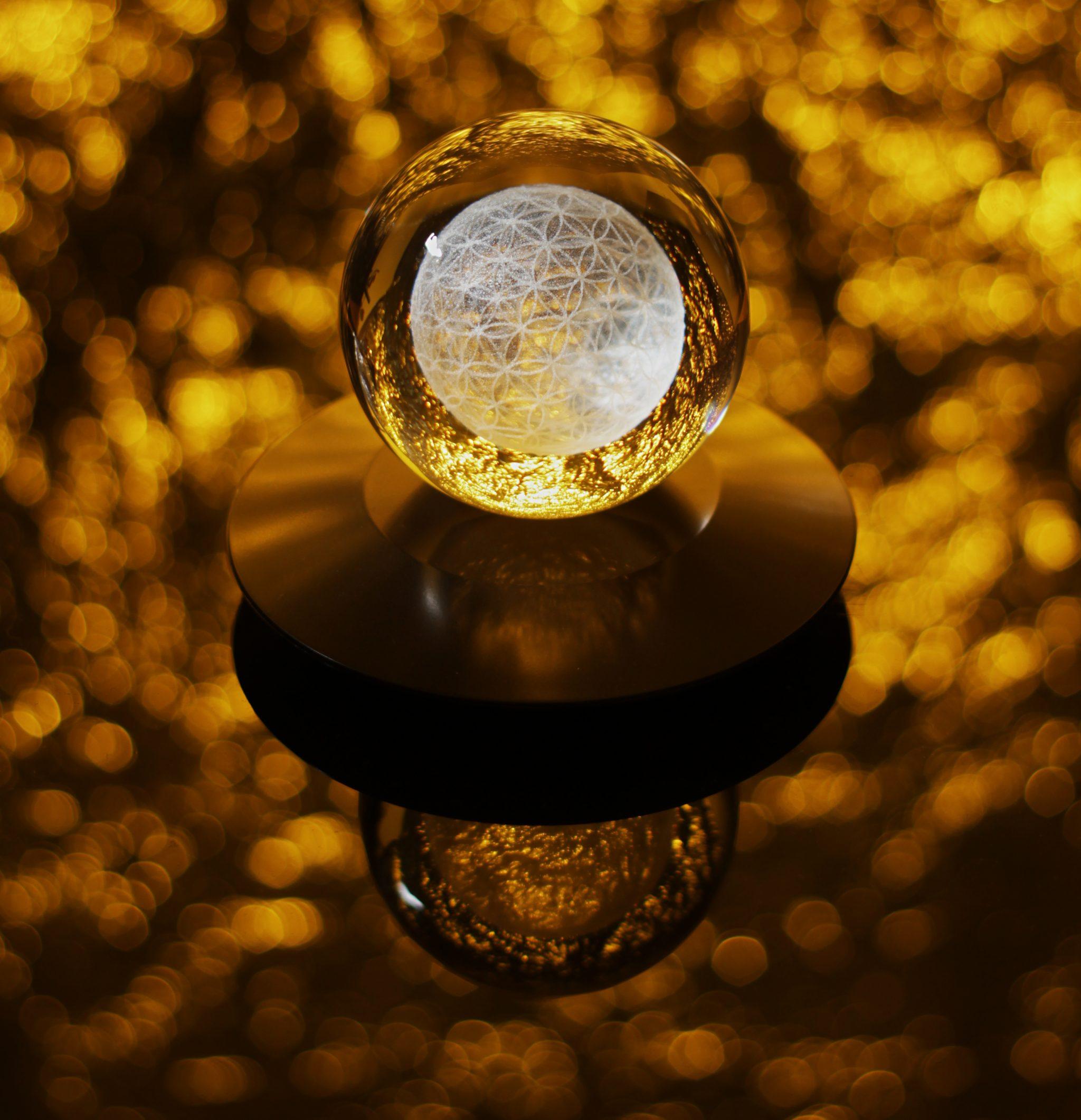 LED-Untersetzer – Ufo